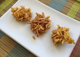 Aranitas de Platano  (Shredded Green Plantain Fritters)